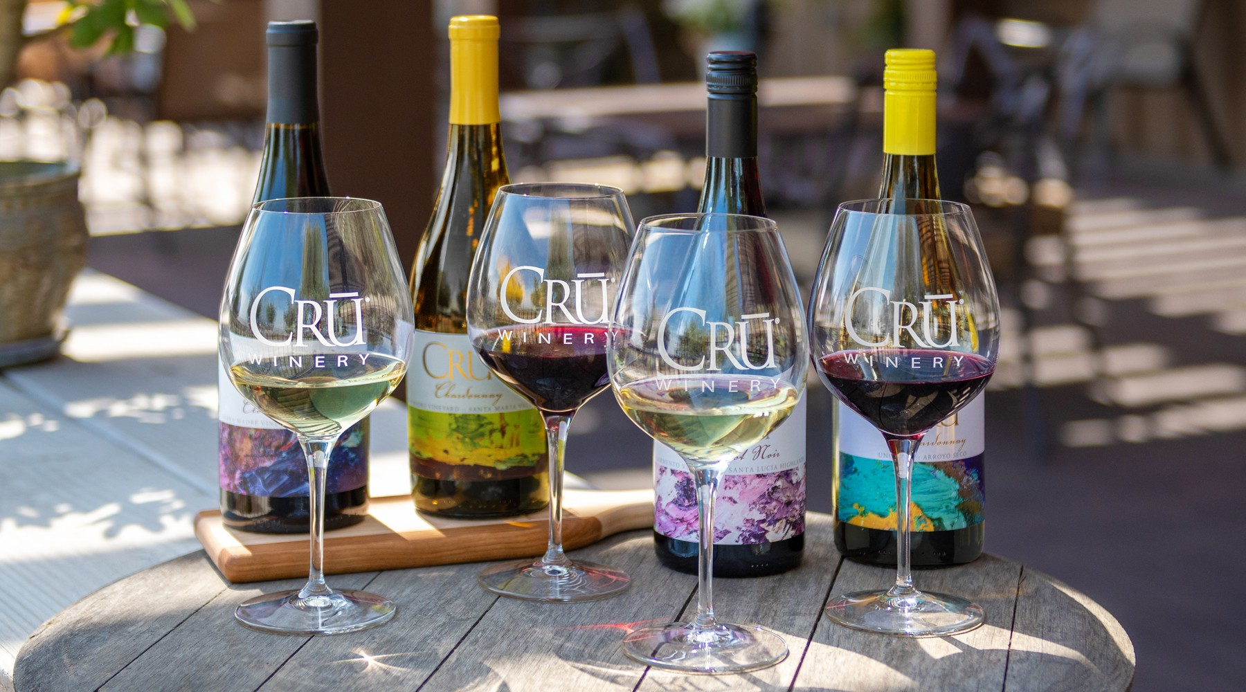 Tasting at CRU Winery